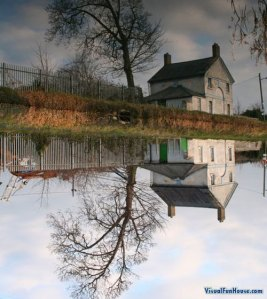 reflection-house