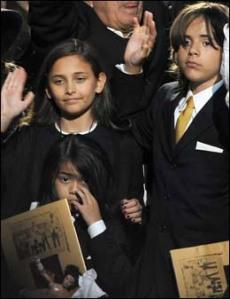 barna til michael Jackson