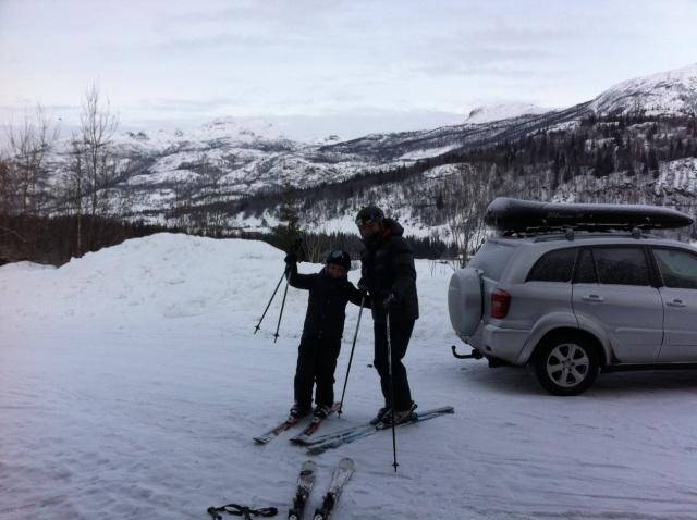 Klar for skidag